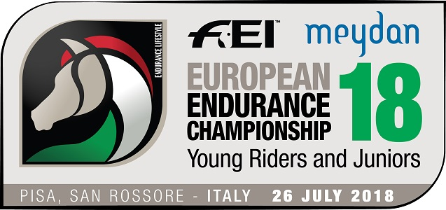 Logo Campionato Europeo Young Riders & Juniors 2018